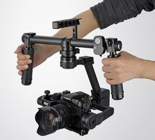 DYS Summer GH4 gimbal / SONY A7S DSLR 3 axis Handhled Brushless gimbal with 32bit Alexmos controller, with stand and carry bag