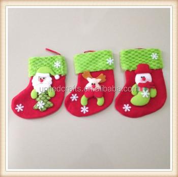 3 Pc Christmas Stockings Gift Bag Hanging Candy Socks Christmas Tree Decoration Buy Crystal Christmas Tree Decoration Homemade Christmas Tree