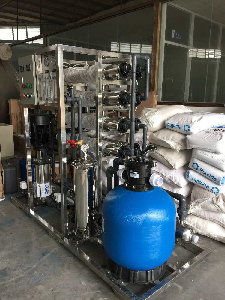 Industrial ro plant water treatment equipment with reverse osmosis membrane 4040
