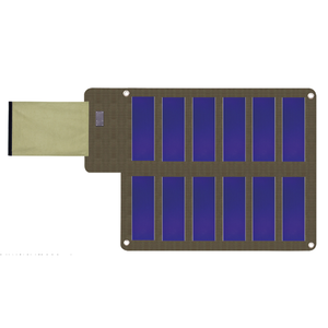 Mini amorphous silicon thin film usb 36w panel 36 watt cells solar flexible for charger cell phone