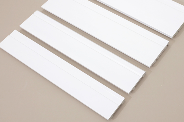 INTCO Quick Install Waterproof Base Board Plastic Skirting