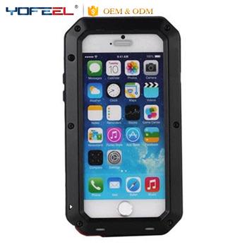 info for 93b2e c91c0 Luxury Dustproof Shockproof Waterproof Aluminum Gorilla Glass Metal  Protective Cell Phone Cover Case For Iphone7 7 Plus - Buy Waterproof  Dustproof ...