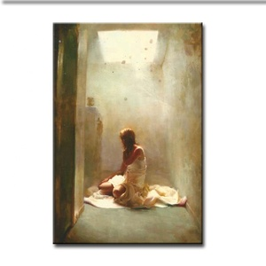 MYT Painting Canvas Art Oil Painting Pictures Nude Sexy Dancer Of Girl