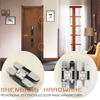 Casing Frame Door Invisible Concealed Hinges For Interior Doors Fire  Resistance