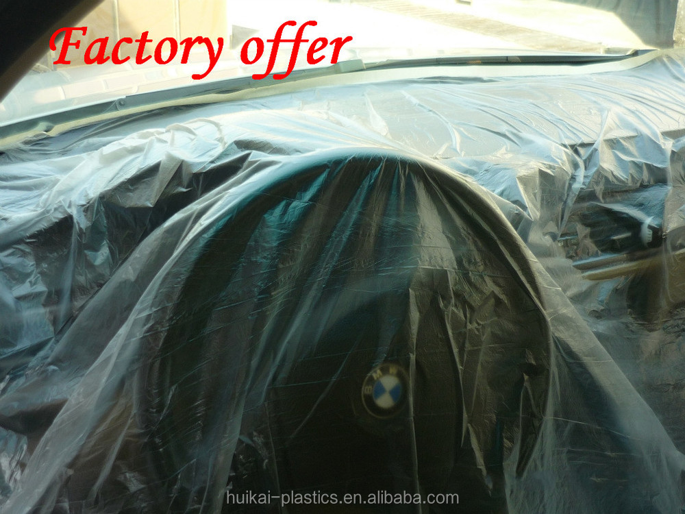 ldpe plastic painter drop cloth 3m protection film for car plastic drop sheets for painting