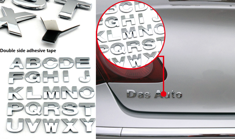 car chrome letters car chrome letters suppliers and manufacturers at alibabacom