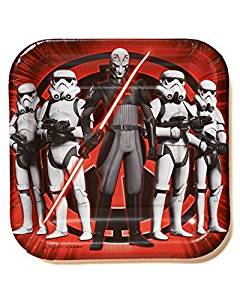 Star Wars Rebels Plate (S) 8ct [Contains 5 Manufacturer Retail Unit(s) Per Amazon Combined Package Sales Unit] - SKU# 541841