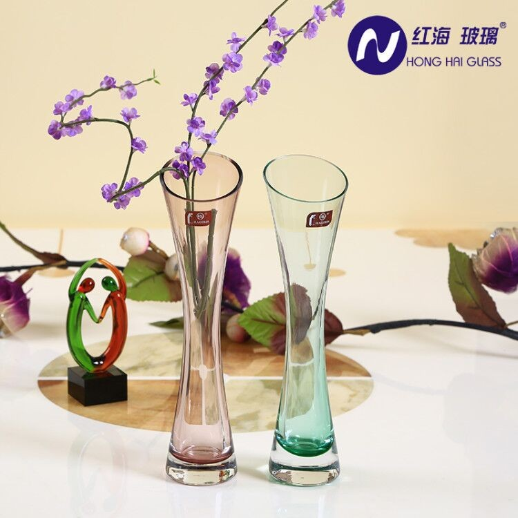 Factory Wholesale Cylinder Clear Hurricane Glass Vase