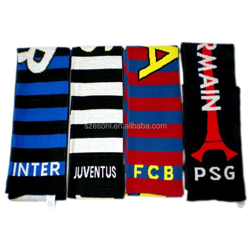 Alibaba Quality Hot Style Fans Cheap Soccer Scarf