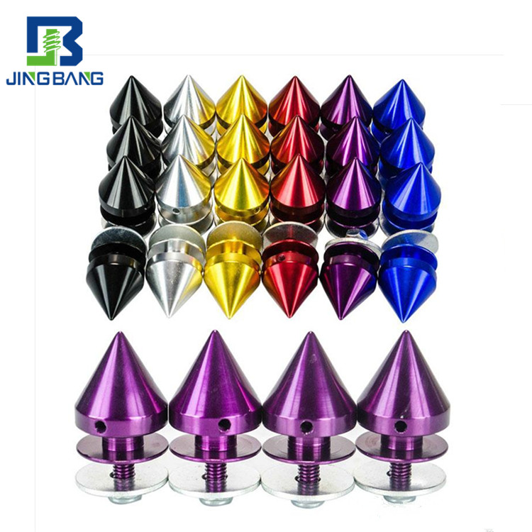 High Quality Anodize AluminumSpec Performance Racing Wheel Lug Nuts Screw M12x1.5 1.25 Length 50mm