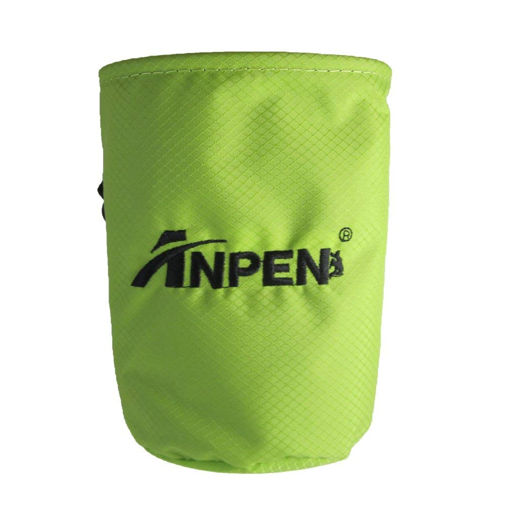 Rock Pursuit Rock Climbing Green Chalk Bag WaterProof Wear Resistance 100% Nylon