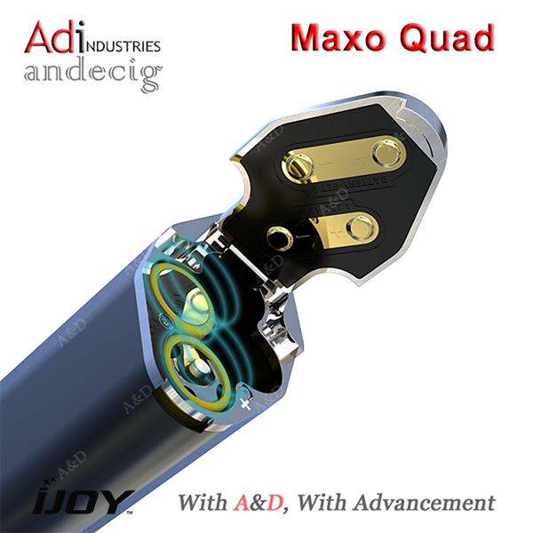 2016 China E-cig Leader Ijoy Maxo 315w Quad-18650 Box Mod A First ...