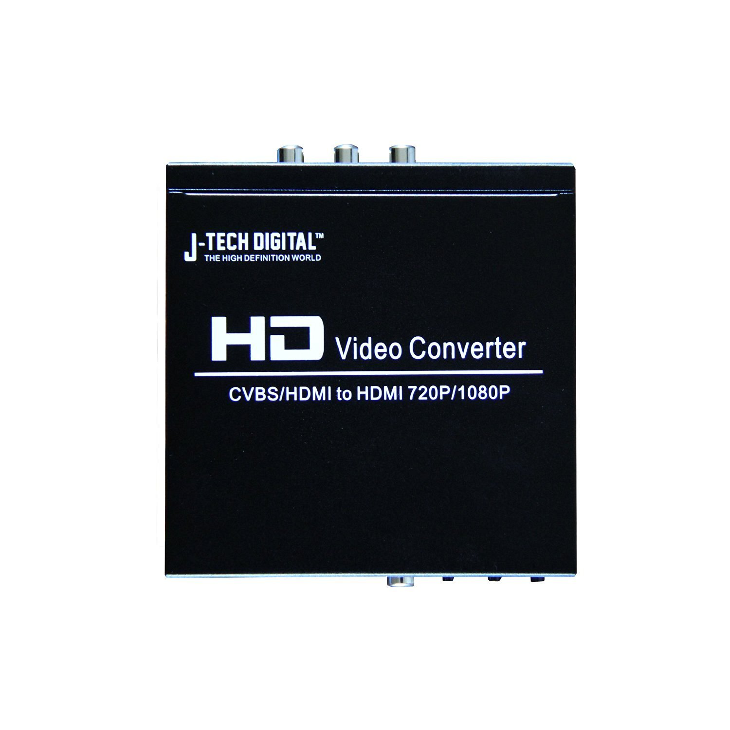 J-Tech Digital (Registered US Trademark) Premium Quality PAL HDMI / Composite to NTSC HDMI 50/60 Hz Multi-System Digital Audio Video Converter - Up to 1080p/720p Upscaling Dual Voltage (110/220V Worldwide Use)