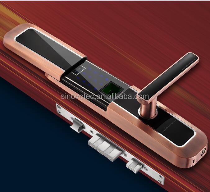 touchpad elektrische biometrische fingerabdruck keyless. Black Bedroom Furniture Sets. Home Design Ideas