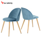 2018 New Design Cheap Modern Velvet comfot fabric dining room chair /chair dining