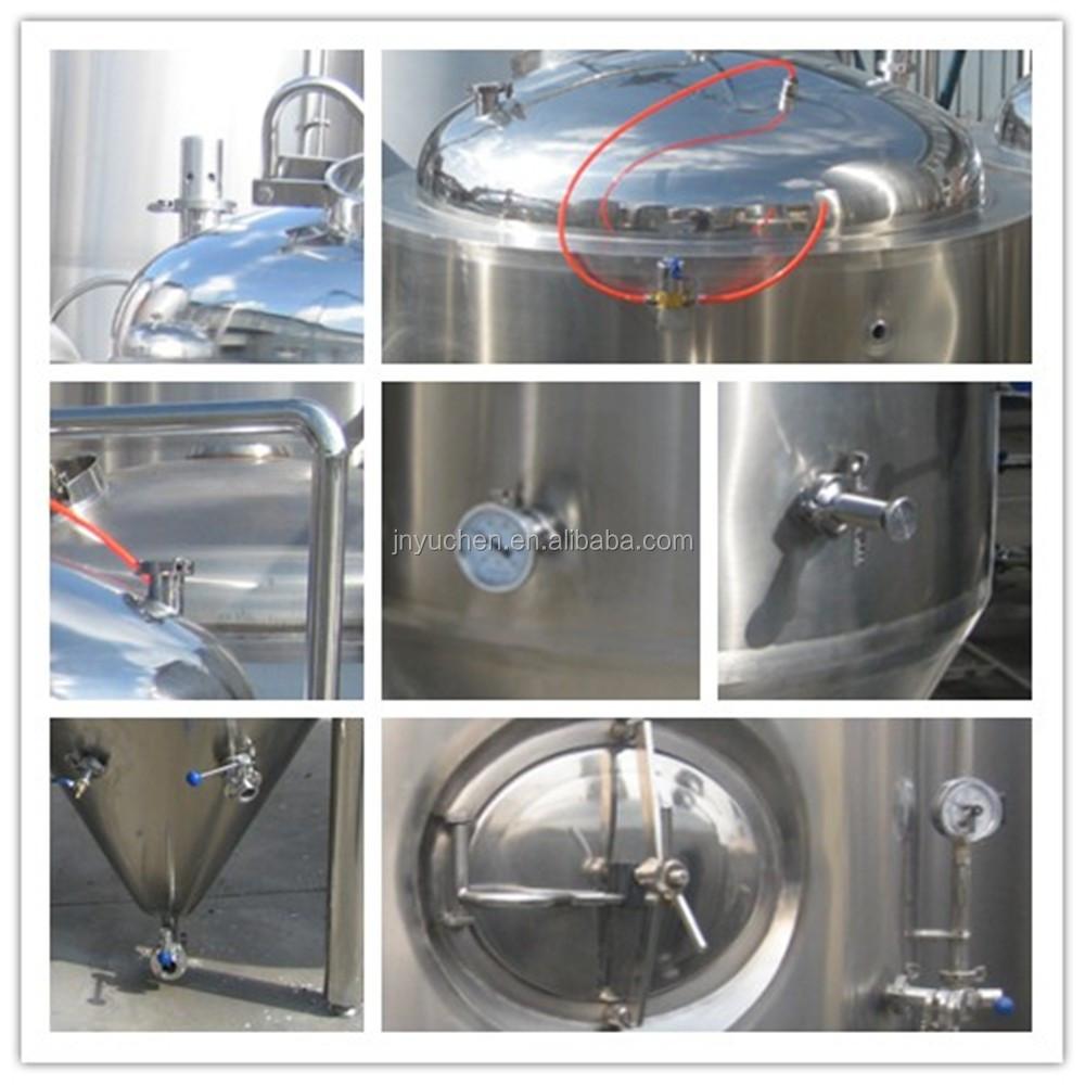 2000L Brewery beer fermentation tank/unitank/beer brewing tank