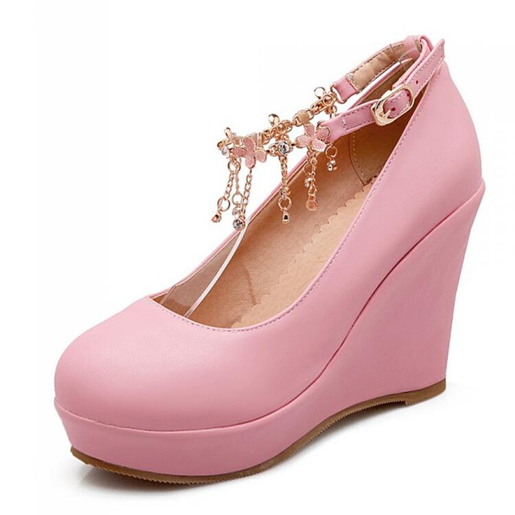 Big size 33 43,2015 New spring autumn round toe fashion ...