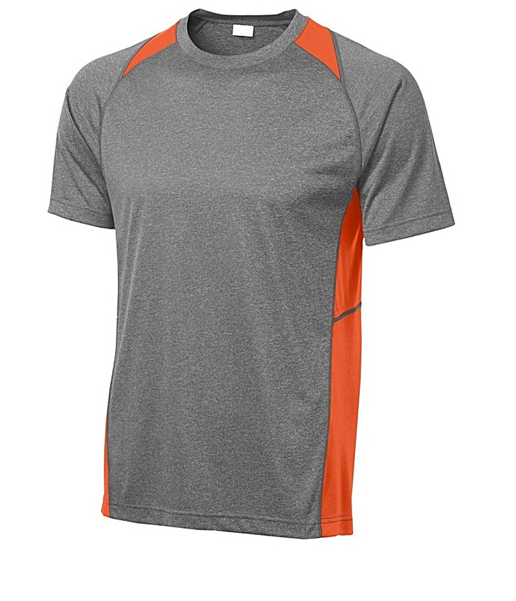 94 polyester 6 spandex wholesale running jogging dry fit for Poly blend t shirts wholesale