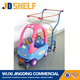 26 Liters Powder Coating Metal children shopping carts/kids trolleys