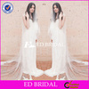 Wholesale Ivory Tulle Long Wedding Veil With Lace Appliqued Hem