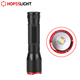 Aluminum Alloy Long Beam 18650 Zoomable 10W USB Rechargeable LED Tactical Torch Flashlight