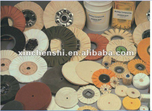 Cloth and sisal buffing wheel from manufacturer directly