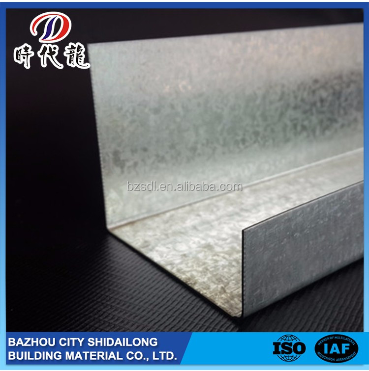 Competitive Price Widely Use Hot Dipped Zinc Steel Ceiling Profile