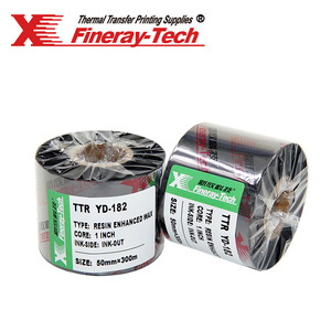 100m width with Ink out Premium wax/resin ribbon for Zebra/Sato/TCS printer