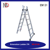 16-Feet Aluminum Extension Ladder with 300-Pound Capacity