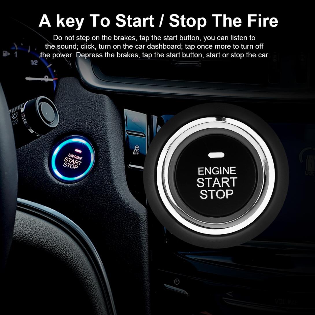 2019 Auto Keyless Universal Car Alarm Security System Remote Start