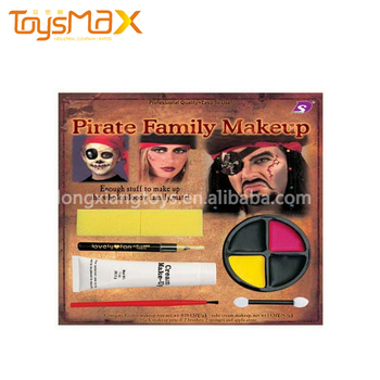 Halloween makeup kit pirate party supplies family makeup kit