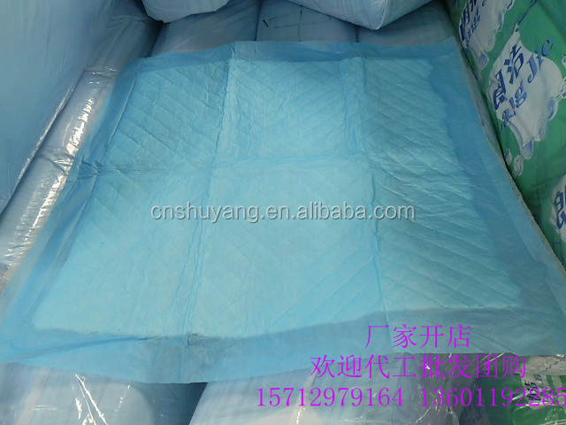 OEM hospital disposable adult underpads for incontinents under pad