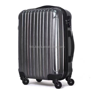 ABS PC Cheap price promotional and gift rolling suitcase luggage trolley bag