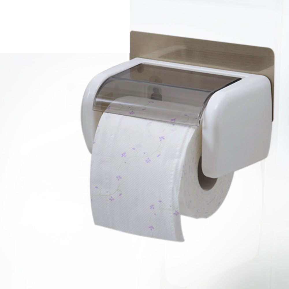 Creative suction cup waterproof bathroom tissue box/ toilet tissue holder/Toilet tray/Tray/ volume box/ toilet roll holder-A