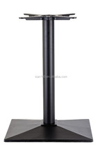 Modern heavy duty metal table base for granite table