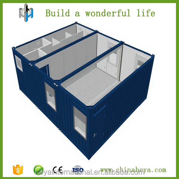 2016 flat pack office container building for living