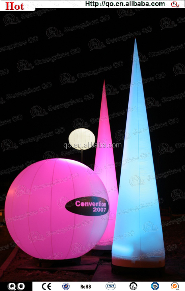 China Suppliers Wedding Decorators Inflatable Light Ball