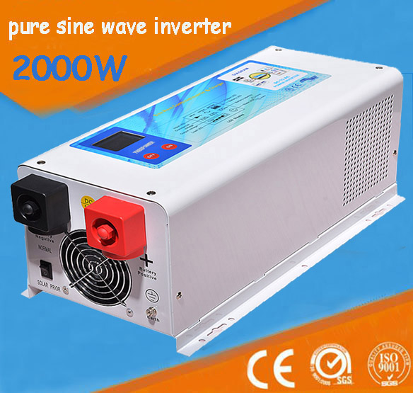Wall mounted Single phase frequency 2000w off gird solar inverter 2KVA