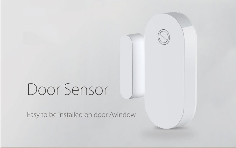HH New Product Smart Security Devices Home Automation Bluetooth Window Door Sensor support Tuya APP