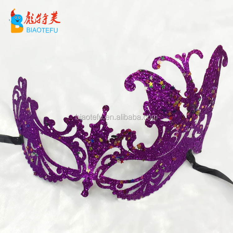 gold venice plastic cosplay masquerade mask