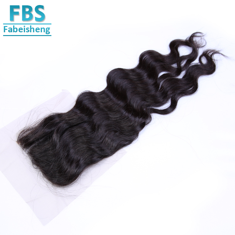 Nice Textures Natural Wave Brazilian Lace Closures Pieces In Brazilian