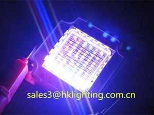 China Market CE RoHS Approved New LED 72 Chips 16V UV RGBW RGB Full Spectrum COB LED Grow Light