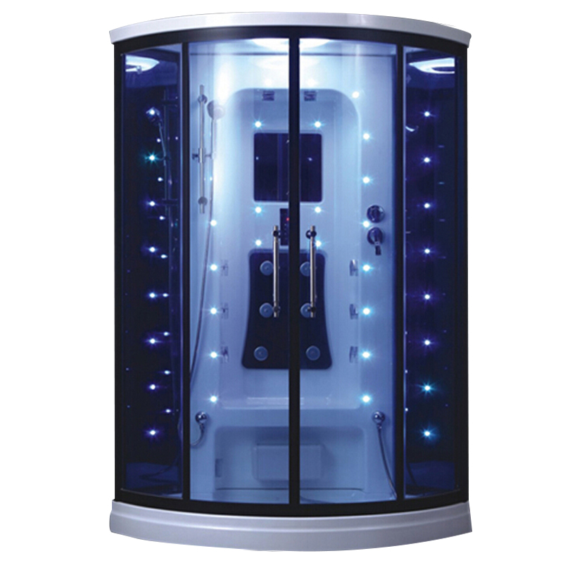HS-SR012 hydro massage shower room/ sanitary ware steam room/ shower cabin with steam function