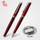 2018 new products classical marble design ball pen and roller pen set
