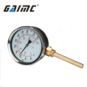 GWSS thread G1/2 pizza oven dial thermometer