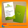 High quality Glossy Paper Card& Elegant business cards/name cards/edge business card