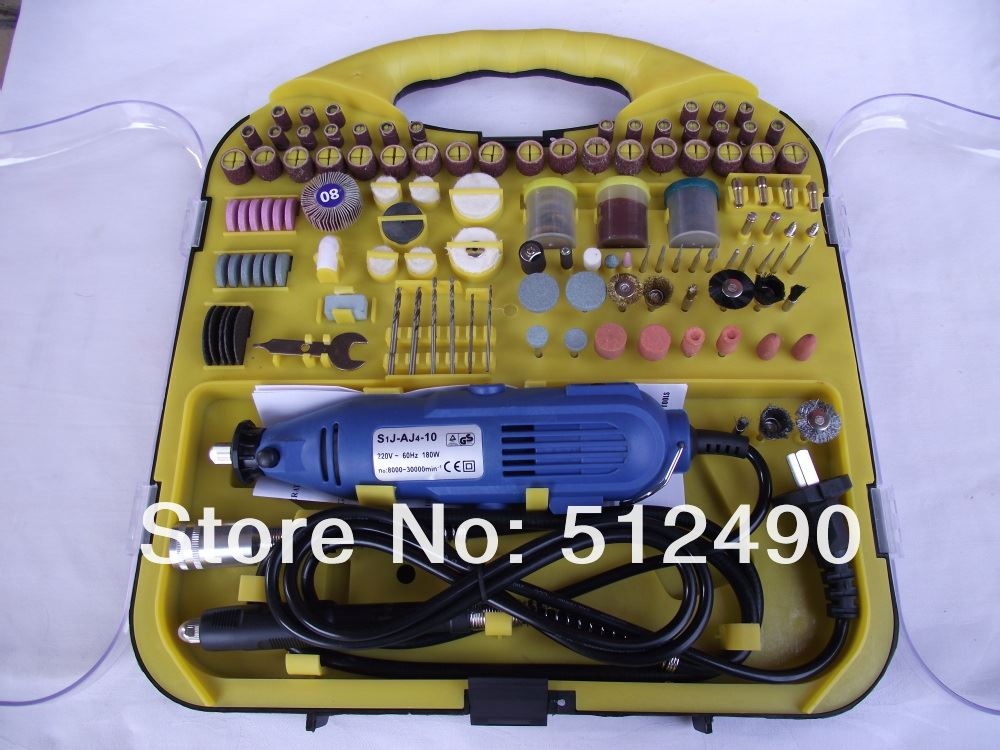 Hardware Variable Speed Grinder Tool With Flexible Shaft&183pc Rotary Tool Set/Kit/Accessory