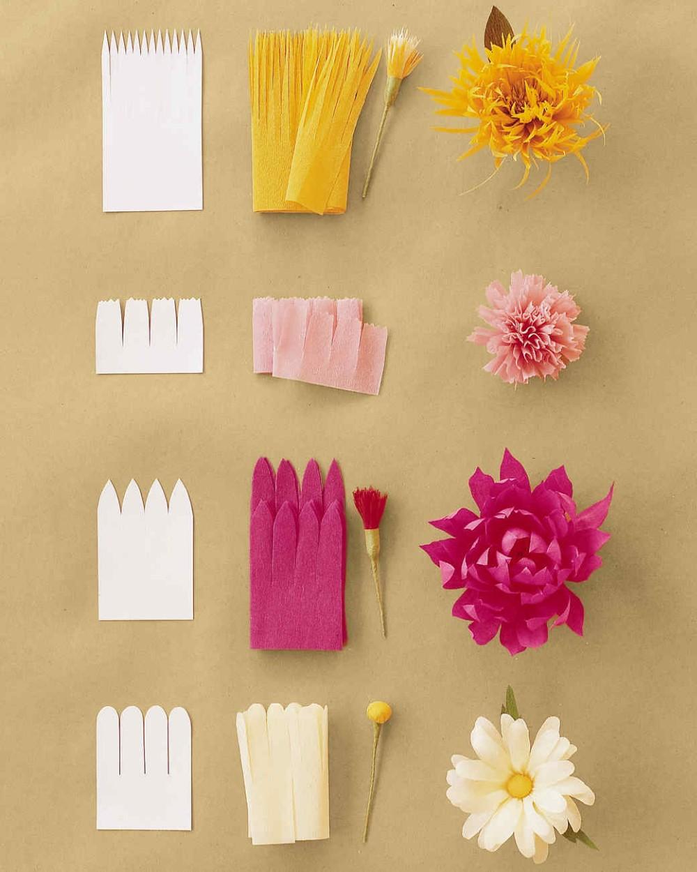 Цветы из гофрированной бумаги для открытки мастер-класс, для учителя английскому