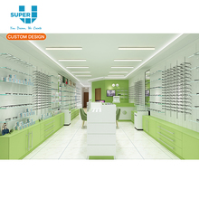 Customized Interior Decoration Optical Shop Display Furniture for Glasses Retail