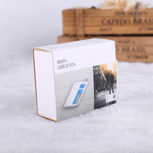 Custom keyfinder USB stick paper packaging box